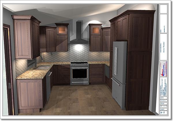Kitchen Remodeling Rendering