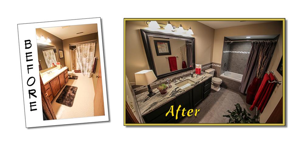 Bathroom Remodel 1: Before & After