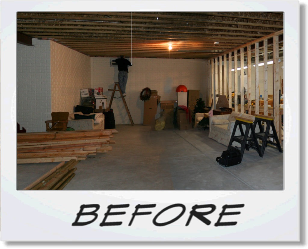 Basement Project 4 Before Photo