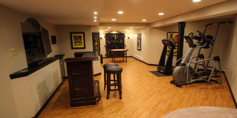 Brookfield Basement Finish